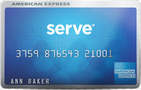 serve prepaid card serve prepaid card by american express