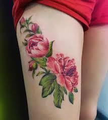 Female Thigh Tattoo Ideas 25 Badass Thigh Tattoo Ideas For Women Flower Thigh Tattoos