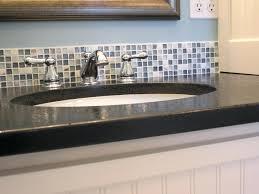 Glass Tile Backsplash Ideas Bathroom Backsplash In Bathroom Contemporary Cool Glass Tile Backsplash In