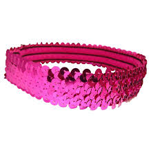 pink headbands kenz laurenz sequin headband headbands sparkly hair