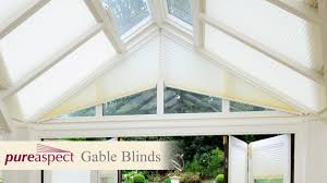 pureaspect gable blinds for conservatories youtube