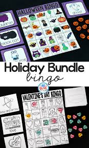 s day bingo bingo bundle a dab of glue will do