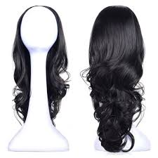 what is kanekalon hair types chart 23 curly 3 4 ladies half wig kanekalon hair synthetic wigs with
