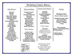 wedding cake flavors and fillings cake flavours and awesome ideas for cakes cakes cake