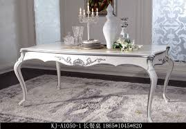 180cm long wooden carved white silver dining table buy oak wood