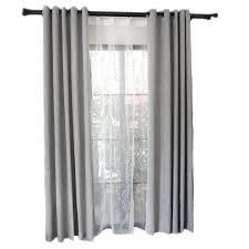 rideaux de cuisine et blanc moderne simple gris tissu rideau d occultation pour salon fenêtre