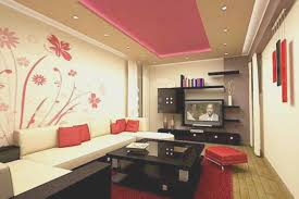 Cool Home Interiors Living Room Creative Red Paint Living Room Ideas Cool Home