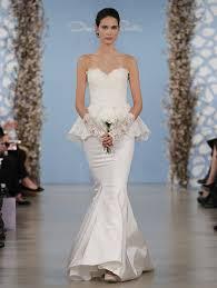 25 pretty perfect peplum wedding dresses aisle perfect