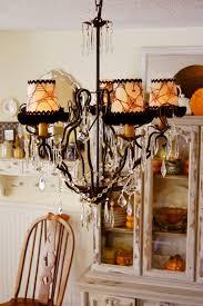 Chandelier Shade How To Make Halloween Chandelier Shades Tutorial Cottage Magpie