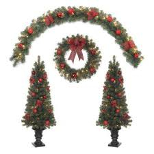 pre decorated artificial trees trees the