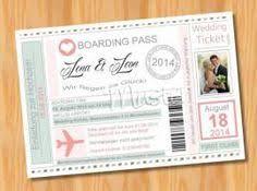 muster einladungen hochzeit einladungskarten hochzeit flugticket 36 bild vergrößern