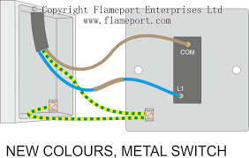 one way switched lighting circuits