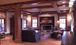 craftsman home interiors bungalow style homes interior cottage