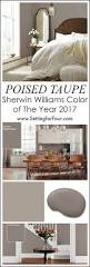 sherwin williams poised taupe color of the year 2017 room