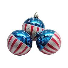 white and blue ornaments