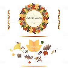 autumn ornaments stock vector 607929796 istock