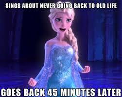 Elsa Frozen Meme - frozen memes funny jokes about disney animated movie elsa meme