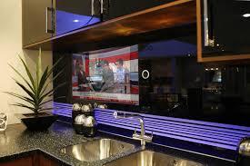 all things led kitchen backsplash kitchen splashback television by techvision page