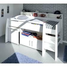 lit superposé avec bureau pas cher lit bureau pas cher lit mezzanine 1 place avec bureau lit combine