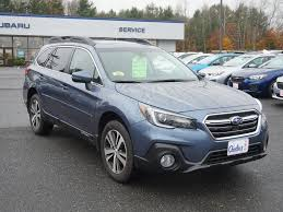 subaru outback carbide gray used 2018 subaru outback for sale in augusta me vin 4s4bsanc9j3212046