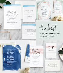 beachy wedding invitations 6 wedding invitations day press