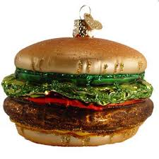 cheeseburger ornament everything burger