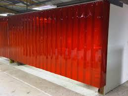 Retractable Welding Curtains Welding Curtains Welding Screen Amber Pvc Hivis 6x6ft Welding