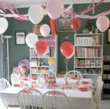 simple decoration for birthday party at home