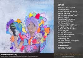 Idaho Fine Arts Academy   Canvas by Michelle Quinn