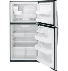 residential refrigerator freezer double door stainless steel