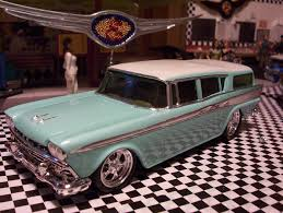 2 Tone Paint Rambler Wagon 1959 Lowered With Custom Wheels 2 Tone Paint Scale