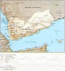 Map Of Al Map Of Yemen Relief Map Weltkarte Com Karten Und Stadtpläne