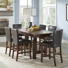 Intercon Kona Solid Mango Wood Dining Table With Butterfly Leaf - Counter height dining table set butterfly leaf
