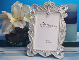 photo frame party favors blessed events cross design photo frame