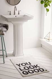 plum u0026 bow you look good bath mat urban outfitters apartment