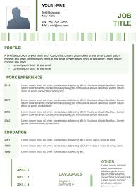 example of modern resume 4 these templates are the models most