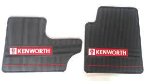 kenworth technical support amazon com kenworth oem dark gray rubber floor mats w logo fits