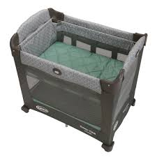 Graco Crib Mattress Size by Amazon Com Graco Travel Lite Crib With Stages Manor Baby