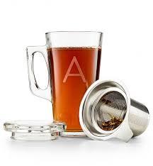 personalized keepsake gifts personalized tea glass with infuser personalized keepsake