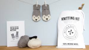 knitting kits by button and blue by philip kickstarter