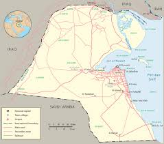 Michigan Map With Cities by Maps Of Kuwait Detailed Map Of Kuwait In English Tourist Map