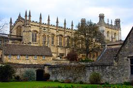 channeling harry potter in oxford at christ church college