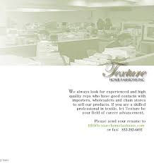 texture home fashions inc join us the leading home decor