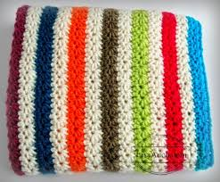 How To Crochet A Rug Out Of Yarn How To Crochet An Easy Baby Blanket Ideal For Beginners Free