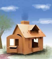 cardboard house play homes pinterest house paper houses and
