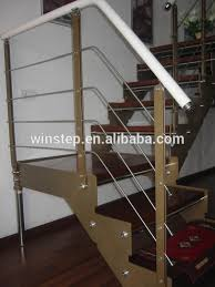 Wooden Banister Rails Wooden Banister Rail With Stainless Steel Frame Buy Decorative