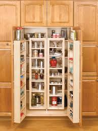 Kitchen Cabinets Storage Solutions by White Kitchen Pantry Storage Cabinet Made Of Wood With Profile