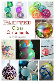 swirled paint glass ornaments rainforest islands ferry