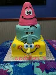 spongebob birthday cake spongebob birthday cake my oldest spongebob recepten om