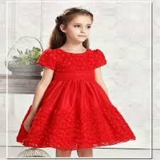 graceful dresses toddler baby rosette flower